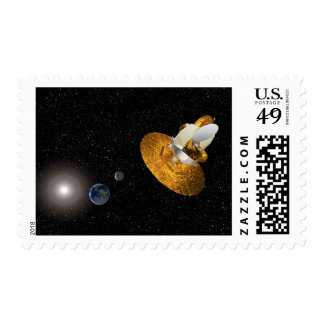 The Wilkinson Microwave Anisotropy Probe Postage Stamp