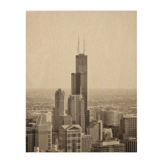 The Willis (ehrm...Sears) Tower Wood Print