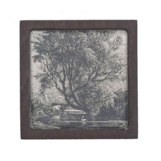 The Willow (etching) Keepsake Box