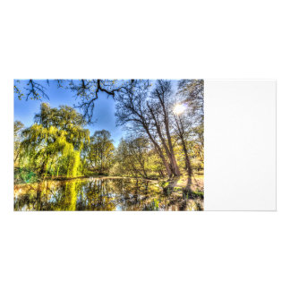 The Willow Tree Pond Card