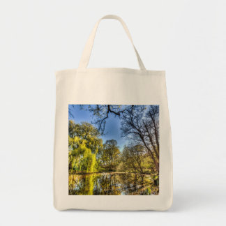 The Willow Tree Pond Tote Bag