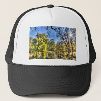 The Willow Tree Pond Trucker Hat