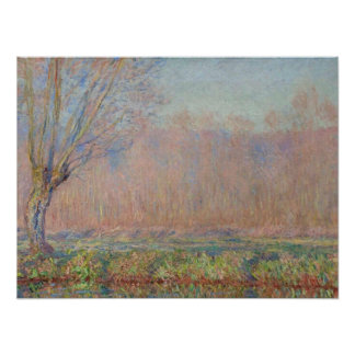 The Willows - Claude Monet Poster