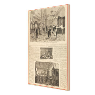 The Wilson Sewing Machine Company Canvas Print