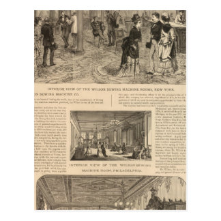 The Wilson Sewing Machine Company Postcard