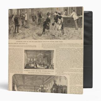 The Wilson Sewing Machine Company Vinyl Binders
