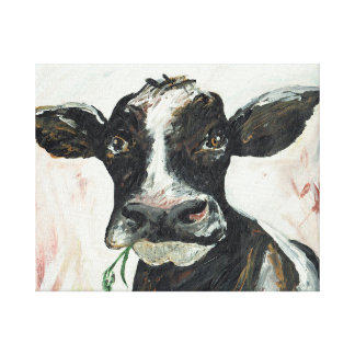 The Wiltshire Cow Canvas Print