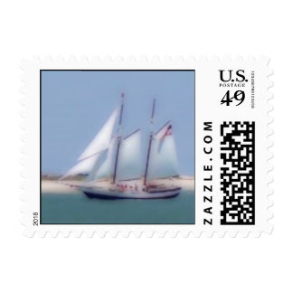 The Wind At Our Backs Postage Stamp