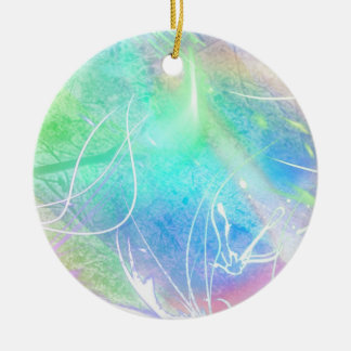 The wind cries christmas tree ornament