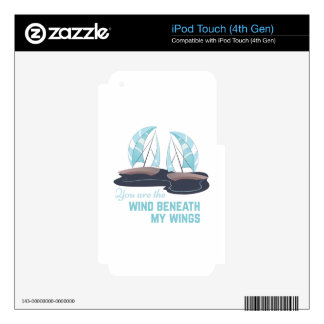 The Wind iPod Touch 4G Decal