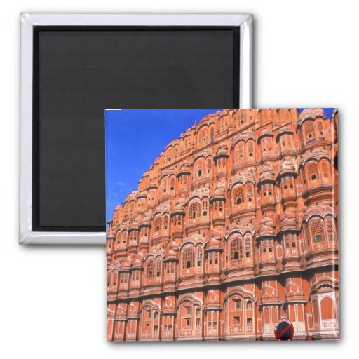 The Wind Palace at Jaipur India Refrigerator Magnets