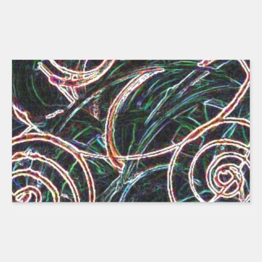 The Wind Rectangular Sticker
