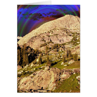 The Wind River Mountains # 4 Card