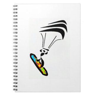 THE WIND TAKES SPIRAL NOTEBOOK