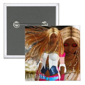 The Wind Waker: Alternate 2 Inch Square Button