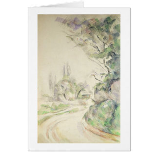 The Winding Road, c.1900-06 (w/c on paper) Card