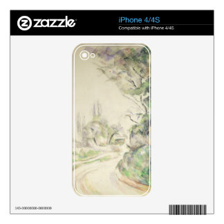 The Winding Road, c.1900-06 (w/c on paper) Skins For iPhone 4