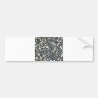 The Winding Worm A1 Bumper Sticker
