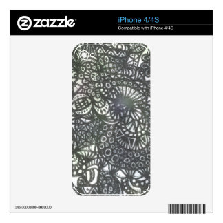 The Winding Worm A1 iPhone 4S Skin