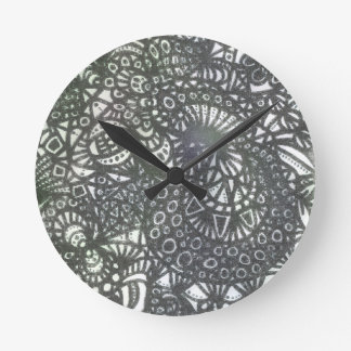 The Winding Worm A1 Round Clock