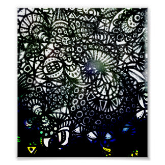 The Winding Worm A2 Canvas Poster