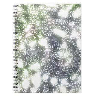 The Winding Worm A3 Spiral Notebook