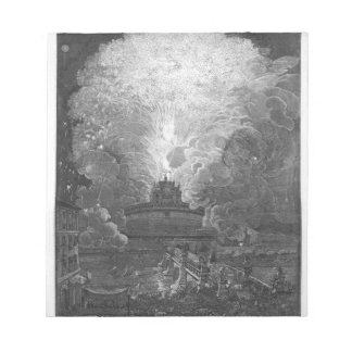 The Windmill at Castel S. Angelo, design... Notepad