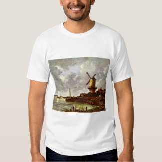 The Windmill At Wijk Bij Duurstede [1]. By Jacob I Shirt