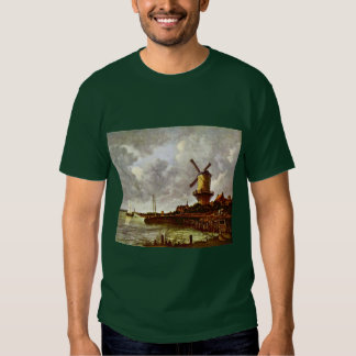 The Windmill At Wijk Bij Duurstede [1]. By Jacob I T-shirt