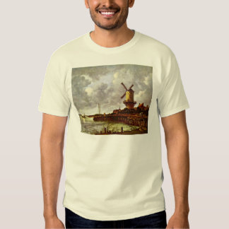 The Windmill At Wijk Bij Duurstede [1]. By Jacob I Tee Shirt