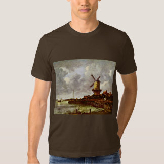 The Windmill At Wijk Bij Duurstede [1]. By Jacob I Tshirts