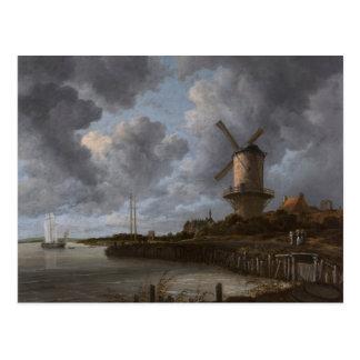 The Windmill at Wijk bij Duurstede Postcard