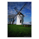 The Windmill in Somerset Poster