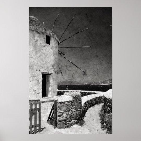 The windmills of Mykonos 3 - Poster