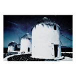 The windmills of Mykonos - Poster