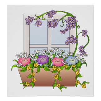 The Window Box Poster