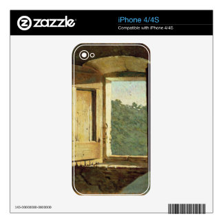The Window oil on canvas Decal For iPhone 4S