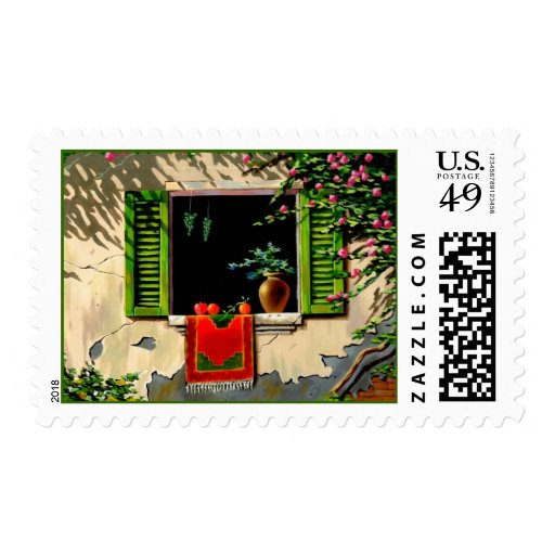 The Window Postage Stamps