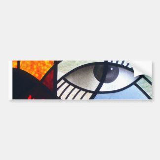 The Window to the Soul Bumper Stickers