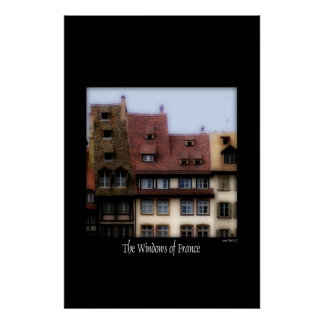 The Windows of France Print