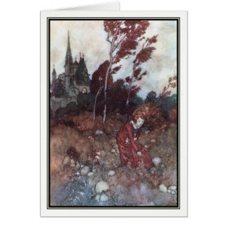 The Wind's Tale by Edmund Dulac Card