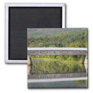 The Windsor-Cornish Covered Bridge spans the Magnet