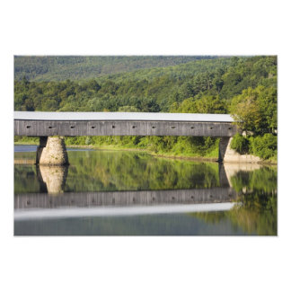 The Windsor-Cornish Covered Bridge spans the Photo Print