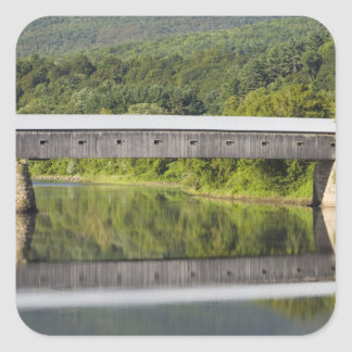 The Windsor-Cornish Covered Bridge spans the Square Sticker