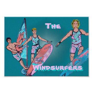 The Windsurfers Poster