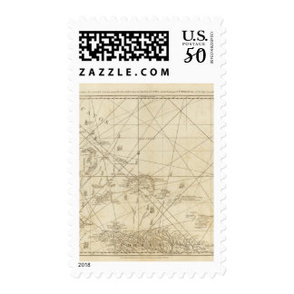 The Windward Passage with several passages Postage