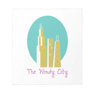 The Windy City Memo Notepads