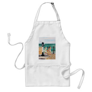 The Windy Day Adult Apron