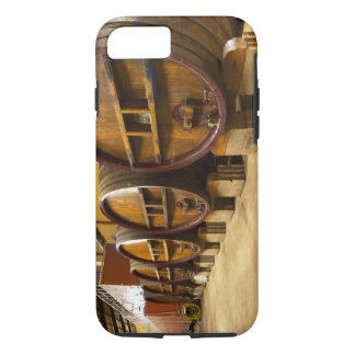 The wine cellar winery with big old wooden casks iPhone 8/7 case
