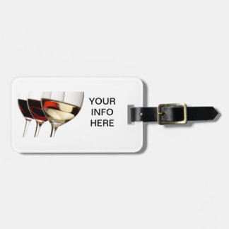 THE WINE ENTHUSIASTS LUGGAGE TAG
